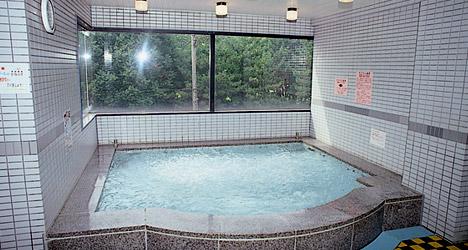 ラジウム温泉のジャグジー