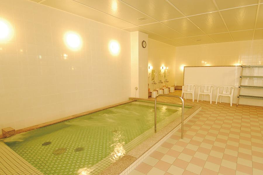 炭酸泉の露天風呂